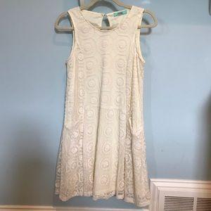 Karlie Pale Yellow Dress